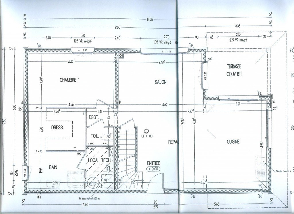 Plan Rez de Chaussée dans 06- Plans 005