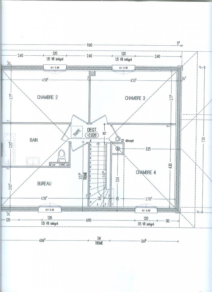 Plan 1er étage dans 06- Plans 006